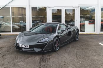 McLaren 570S Coupe 570S COUPE 3.8SSG Semi-Automatic 2 door Coupe (2017)